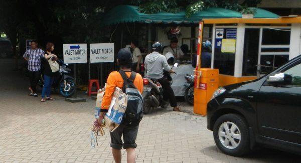 Jasa Valet Parkir Motor